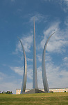Washington DC; USA: The Air Force Memorial in Arlington, Virginia.Photo copyright Lee Foster Photo # 33-washdc83193