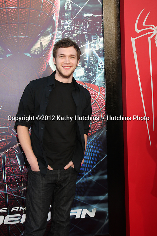 "LOS ANGELES - JUN 28:  Phillip Phillips arrives at the ""The Amazing Spider-Man"" Premiere at Village Theater on June 28, 2012 in Westwood, CA"
