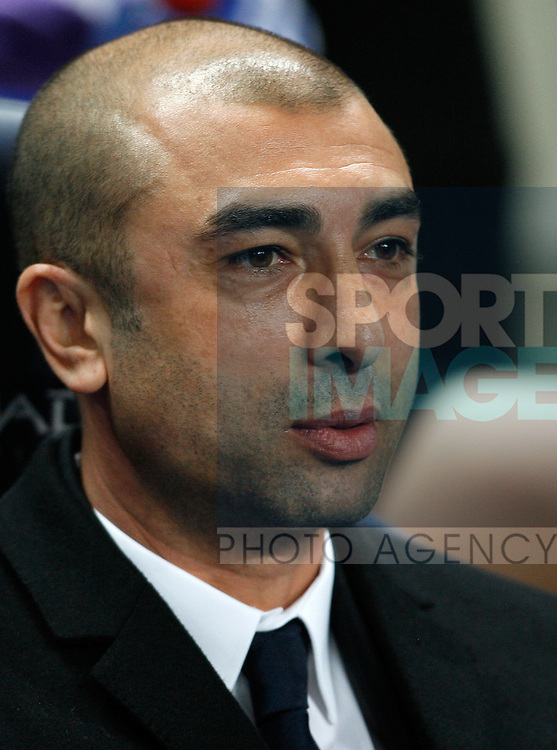 Chelsea's interim manager Roberto Di Matteo..Barclays Premier League match between Manchester City v Chelsea at the Etihad Stadium, Manchester on the 21st March 2012..Sportimage +44 7980659747.picturedesk@sportimage.co.uk.http://www.sportimage.co.uk/.