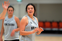 Charlisse Leger-Walker. Tall Ferns women's basketball training at Bill Pulman Arena in Papakura, Auckland, New Zealand on Wednesday, 7 June 2017. Photo: Dave Lintott / lintottphoto.co.nz