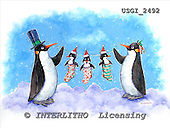 GIORDANO, CHRISTMAS ANIMALS, WEIHNACHTEN TIERE, NAVIDAD ANIMALES, paintings+++++,USGI2492,#XA#