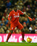 Kolo Toure of Liverpool in action - English Premier League - Liverpool vs Manchester City - Anfield Stadium - Liverpool - England - 3rd March 2016 - Picture Simon Bellis/Sportimage