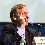 "Governor Howard B. Dean III is a panelist at ""Change in the White House? Comparing the George W. Bush and Barack Obama Presidencies"" on Thursday, April 19, 2012, at Hofstra University, Hempstead, New York, USA. Hofstra's event was part of ""Debate 2012: Pride, Politics and Policy"" which leads up to the Presidential Debate Hofstra is hosting on October 15, 2012. Governor Howard B. Dean III, is a former Democratic National Committee Chairman, presidential candidate, six term Governor of Vermont, and physician."