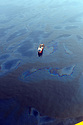"""BP operations continue after announcing that """"top kill'' has failed to stop the oil leaking in the Gulf of Mexico, Saturday, May 29, 2010."""