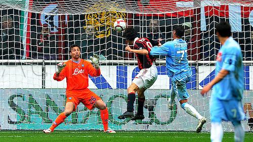 21 03 2010 Copyright Actionplus/ Sesa Gol Tue Filippo Inzaghi DEL Milan Milano 21 3 Stadio Giuseppe Meazza Milan Napoli Campionato Tue Calcio Tue Series A 2009