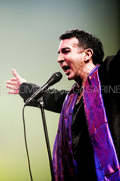 Soft Cell singer Marc Almond at the Sinner's Day festival in Hasselt (Belgium, 31/10/2010)