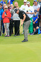 Cormac Sharvin (NIR) putts on the 17th green during Saturday's Round 3 of the Dubai Duty Free Irish Open 2019, held at Lahinch Golf Club, Lahinch, Ireland. 6th July 2019.<br /> Picture: Eoin Clarke | Golffile<br /> <br /> <br /> All photos usage must carry mandatory copyright credit (© Golffile | Eoin Clarke)