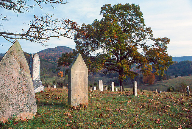 Old cemetary in Sequatchie Valley