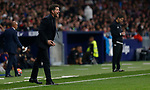 Atletico de Madrid's coach Diego Pablo Simeone during La Liga match. Oct 26, 2019. (ALTERPHOTOS/Manu R.B.)