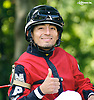 winning at Delaware Park on 8/24/16 Gabriel Saez at Delaware Park on 8/24/16