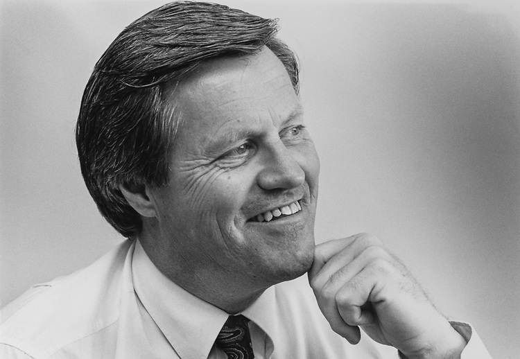 Senate Member Collin Peterson, D-Miss., on Oct. 1, 1990. (Photo by Laura Patterson/CQ Roll Call via Getty Images)