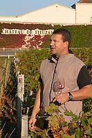 Stephen Carrier, winemaker chateau fieuzal pessac leognan graves bordeaux france