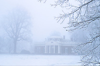 Monticello thomas jefferson winter ice storm Display image Only: Monticello-the historical home of Thomas Jefferson located in Charlottesville, Va. Photo/Andrew Shurtleff