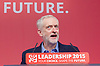 Labour Leadership <br /> Conference <br /> at The QE Conference Centre, Westminster, London, Great Britain <br /> 12th September 2015 <br /> <br /> <br /> Jeremy Corbyn <br /> leader <br /> <br /> <br /> Photograph by Elliott Franks <br /> Image licensed to Elliott Franks Photography Services