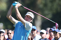 February 21, 2016: Bubba Watson Wins the  Northern Trust Open, Pacific Palisades,CA. Michael Zito/ESW/CSM