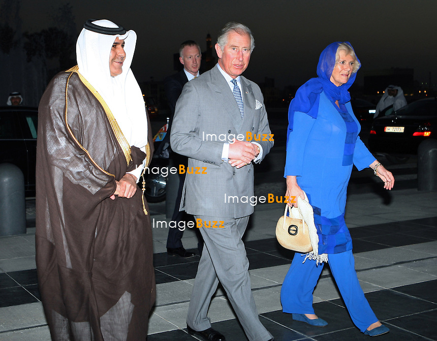 PRINCE CHARLES AND CAMIILLA, DUCHESS OF CORNWALL.attend reception at the Museum of Islamic Art in Doha, Qatar, Qatar_13/03/2013..