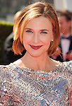 LOS ANGELES, CA - SEPTEMBER 15: Brenda Strong  arrives at the 2012 Primetime Creative Arts Emmy Awards at Nokia Theatre L.A. Live on September 15, 2012 in Los Angeles, California.