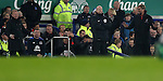 Everton manager Ronald Koeman  and Jurgen Klopp manager of Liverpool on the touchline during  the English Premier League match at Goodison Park, Liverpool. Picture date: December 19th, 2016. Photo credit should read: Lynne Cameron/Sportimage