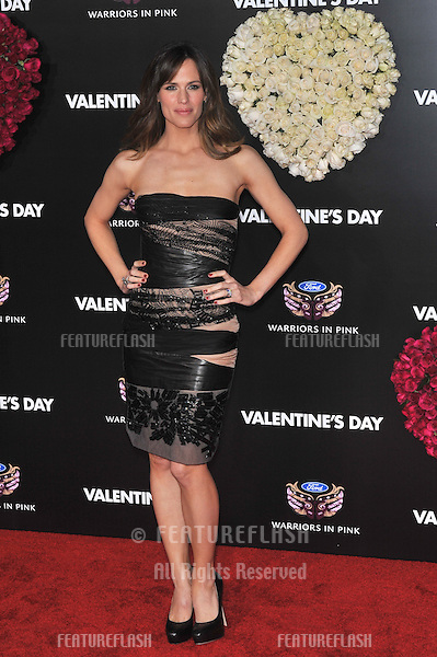"Jennifer Garner at the world premiere of her new movie ""Valentine's Day"" at Grauman's Chinese Theatre, Hollywood..February 8, 2010  Los Angeles, CA.Picture: Paul Smith / Featureflash"