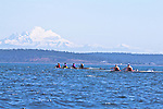 Port Townsend, Rat Island Regatta, rowers, Coeur D'alene Rowing; Maas 2X, Riverside, quad,racing, Sound Rowers, Rat Island Rowing Club, Puget Sound, Olympic Peninsula, Washington State, water sports, rowing, kayaking, competition,