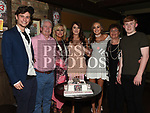 Jess Thompson celebrating her 21st birthday in Donaghy's with parents Seamie and Orla, brother Jack, sister Rebecca and grandmother Etty Heery. Photo:Colin Bell/pressphotos.ie