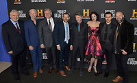 03 January 2019 - Los Angeles, California - Michael Harney, Neal McDonough, Robert Zemeckis, David O'Leary, Aidan Gillen, Laura Mennell, Michael Malarkey, Sean Jablonski. &quot;Project Blue Book&quot; History Scripted Series Los Angeles Premiere held at Simon House.          <br /> CAP/ADM<br /> &copy;ADM/Capital Pictures