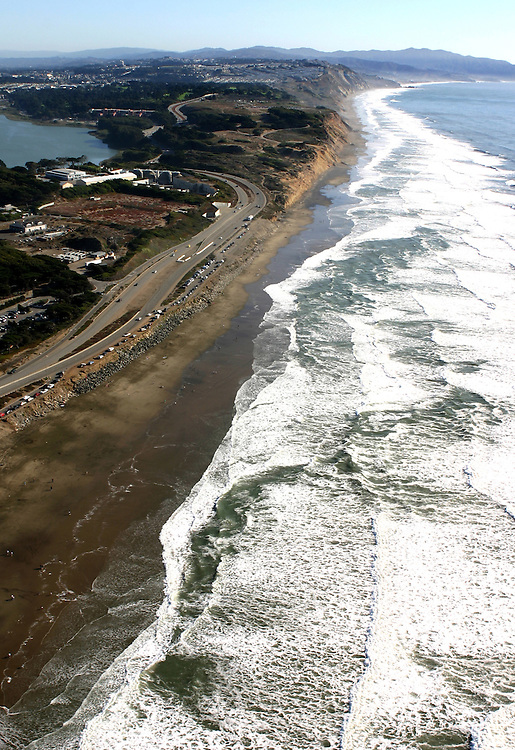 October 16, 2005; San Francisco, CA, USA; Aerial view the Golden Gate National Recreation Area along the coast of San Francisco, CA. Photo by: Phillip Carter