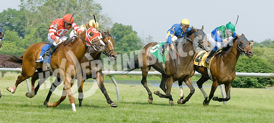 Fantastic Song winning at Delaware Park on 5/28/12