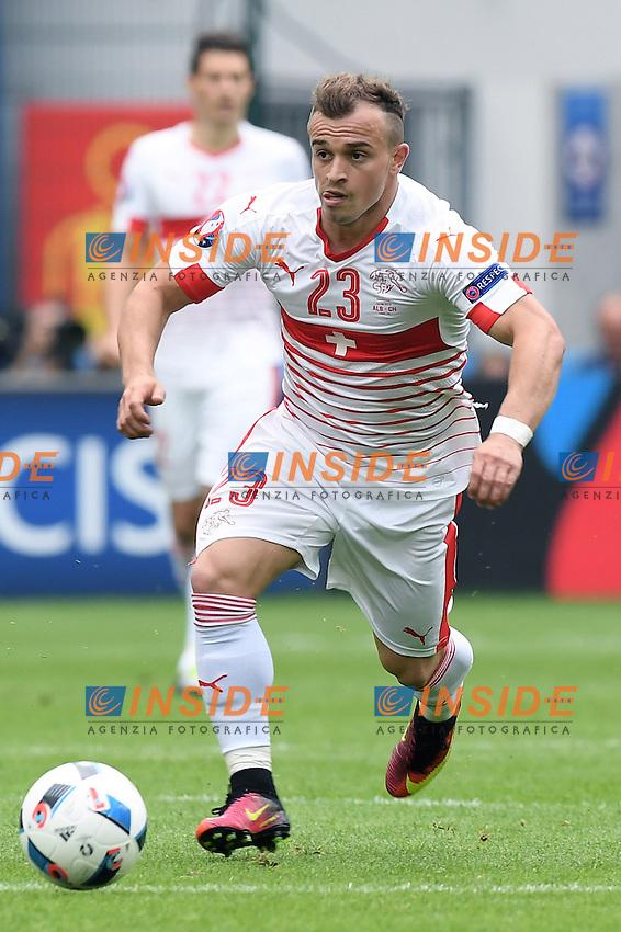 Lens 11-06-2016 Stade Bollaert-Delelis Football  - Euro 2016 / Albania - Switzerland / foto Matteo Gribaudi/Image Sport/Insidefoto<br /> nella foto: Xherdan Shaqiri