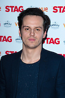 Andrew Scott arriving for The Stag Premiere at Vue Leicester Square, London. 13/003/2014 Picture by: Dave Norton / Featureflash