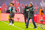 07.10.2018, Red Bull Arena, Leipzig, GER, 1. FBL 2018/2019, RB Leipzig vs. 1. FC N&uuml;rnberg/Nuernberg,<br /> <br /> DFL REGULATIONS PROHIBIT ANY USE OF PHOTOGRAPHS AS IMAGE SEQUENCES AND/OR QUASI-VIDEO.<br /> <br /> im Bild<br /> <br /> <br /> Anweisung von Trainer Ralf Rangnick (#tr, RB Leipzig), <br /> <br /> Foto &copy; nordphoto / Dostmann