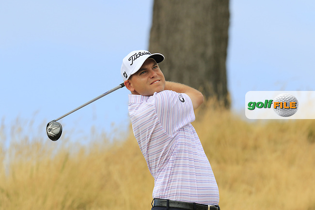 \{prsn}\ during Thursday's Round 1 of the 2015 U.S. Open 115th National Championship held at Chambers Bay, Seattle, Washington, USA. 6/19/2015.<br /> Picture: Golffile   Eoin Clarke<br /> <br /> <br /> <br /> <br /> All photo usage must carry mandatory copyright credit (&copy; Golffile   Eoin Clarke)