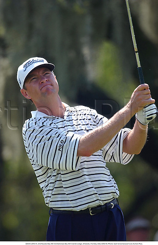 DAVIS LOVE III (USA), 3rd Round, Bay Hill Invitational, Bay Hill Club & Lodge, Orlando, Florida, USA, 020316. Photo: Sam Greenwood/Icon/Action Plus....2002.golf.golfer golfers