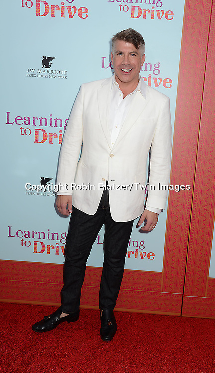 Bryan Batt attends the NewYork VIP Premiere of &quot;Learning to Drive&quot;<br /> on August 17, 2015 at The Paris Theatre in New York City, New York, USA. <br /> <br /> photo by Robin Platzer/Twin Images<br />  <br /> phone number 212-935-0770