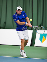 18-01-14,Netherlands, Rotterdam,  TC Victoria, Wildcard Tournament,    Alban Meuffels (NED)<br /> Photo: Henk Koster
