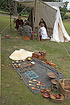 Ormsgard Anglo-Saxon re-enactors, Suffolk, England