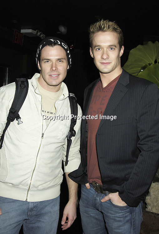 Josh Casaubon and Matthew Metzger ..at the 30th Anniversary Party for Soap Opera Digest on ..November 17, 2005 at PM Lounge. ..Photo by Robin Platzer, Twin Images