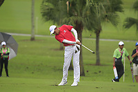 Phachara Khongwatmai (Asia) on the 9th fairway during the Friday Foursomes of the Eurasia Cup at Glenmarie Golf and Country Club on the 12th January 2018.<br /> Picture:  Thos Caffrey / www.golffile.ie
