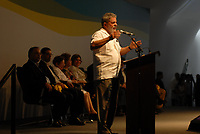 O presidente Luiz Inácio Lula da Silva, a Governadora do Pará Ana Júlia de Vasconcelos Carepa, Dilma Russef, e o presidente da Vale Roger Agnelli  durante inauguração da terceira etapa de expansão da Alunorte, uma das maiores produtoras de alumina no mundo.Barcarena, Pará, Brasil.14 08 2008Foto Paulo Santos