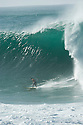 Sunny Garcia (HAW) during the Quiksilver Eddie Aikau at Waimea Bay on the Northshore of Oahu in Hawaii