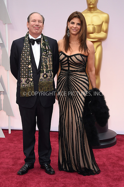 WWW.ACEPIXS.COM<br /> <br /> February 22 2015, LA<br /> <br /> Hans Zimmer arriving at the 87th Annual Academy Awards at the Hollywood &amp; Highland Center on February 22, 2015 in Hollywood, California.<br /> <br /> By Line: Z15/ACE Pictures<br /> <br /> <br /> ACE Pictures, Inc.<br /> tel: 646 769 0430<br /> Email: info@acepixs.com<br /> www.acepixs.com