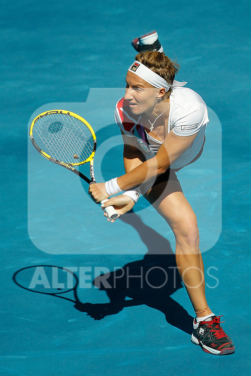 Svetlana Kuznetsova during Mutua Madrid Open 2012 match on may 6th 2012...Photo: Cesar Cebolla / ALFAQUI