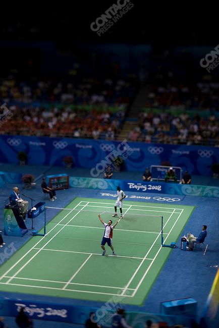 Badminton, Summer Olympics, Beijing, China, August 11, 2008