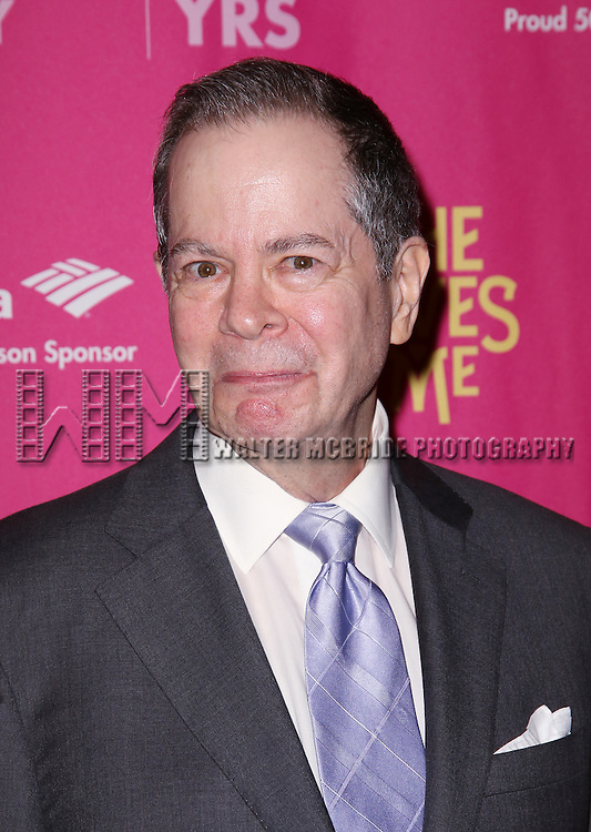 Peter Bartlett attends the Broadway Opening Night Performance press reception for 'She Loves Me' at Studio 54 on March 17, 2016 in New York City.