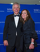 Former Governor Terry McAuliffe (Democrat of Virginia), and Dorothy McAuliffe arrive for the 2018 White House Correspondents Association Annual Dinner at the Washington Hilton Hotel on Saturday, April 28, 2018.<br /> Credit: Ron Sachs / CNP<br /> (RESTRICTION: NO New York or New Jersey Newspapers or newspapers within a 75 mile radius of New York City)