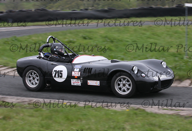 Peter Taylor driving a Fisher Fury in the Machars Car Club organised Kames Sprint, a round of the 2013 Guyson Scottish Sprint, 2013 Guyson Scottish Speed, 2013 MJ Engineering Speed and the 2013 Service Hydraulics Speed Championships held at the Kames Motorsport Complex, Muirkirk on 19.5.13.