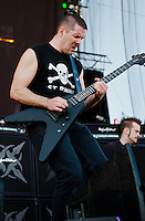 Annihilator performing at Heavy MTL 2011 in Montreal, QC.