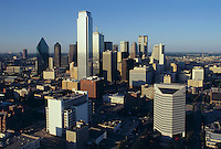 Dallas skyline, Dallas, Texas