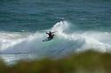 Unknown surfer at Gas Bay near Margaret River in Western Australia.
