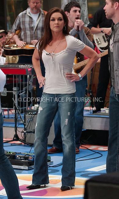 WWW.ACEPIXS.COM . . . . .....May 11, 2007. New York City.....Singer Gretchen Wilson perform on 'The Today Show' 2007 Summer Concert Series at Rockefeller Plaza...  ....Please byline: Kristin Callahan - ACEPIXS.COM..... *** ***..Ace Pictures, Inc:  ..Philip Vaughan (646) 769 0430..e-mail: info@acepixs.com..web: http://www.acepixs.com